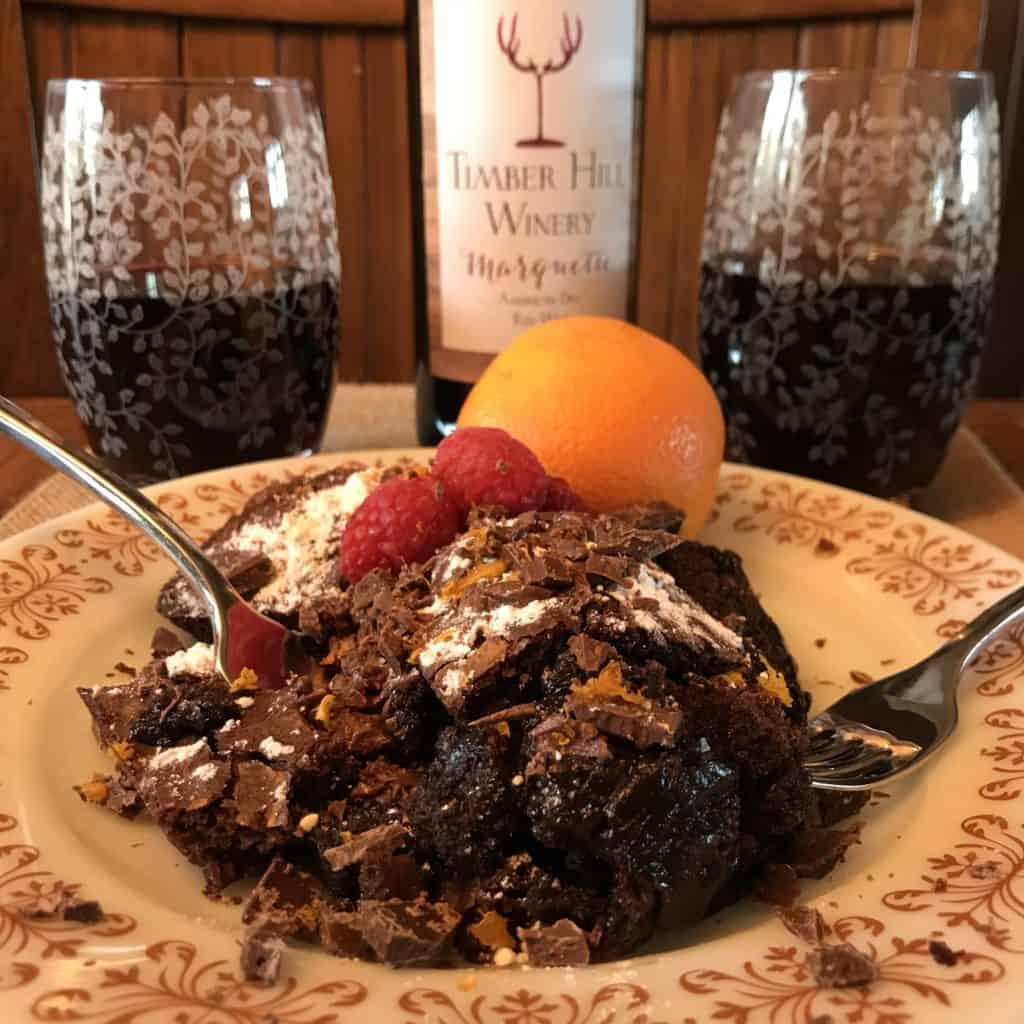 chocolate lava brownies