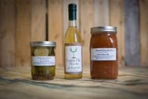 Timber Hill Winery jalapeno wine pickles bloody mary mix