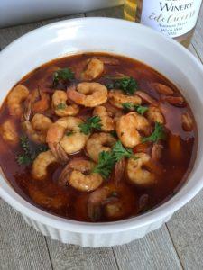 jalapeno wine shrimp