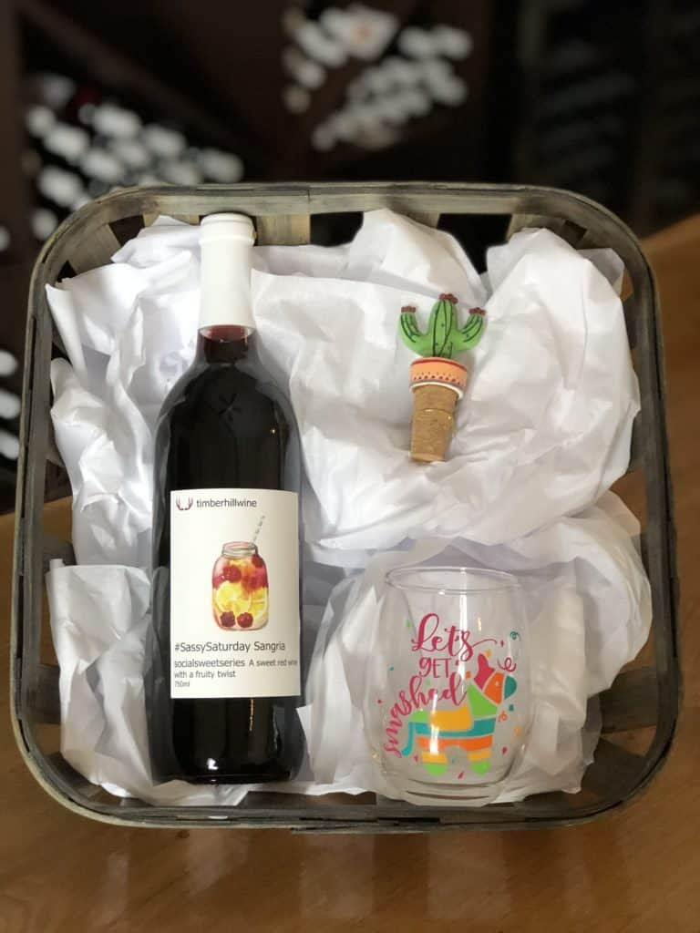Fiesta Gift Basket & Five Holiday Gift Basket Ideas | Timber Hill Winery