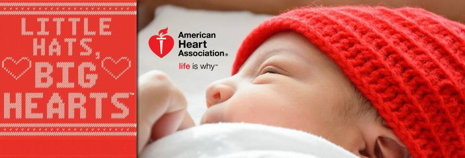 American Heart Association Red Hats