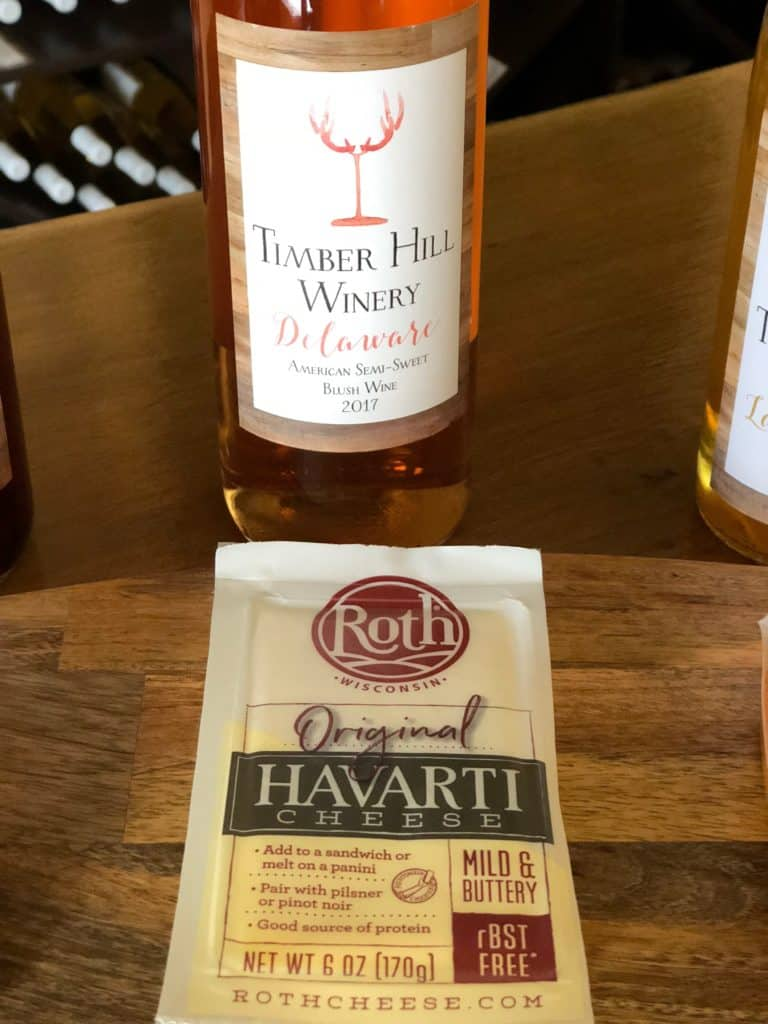Roth Havarti and Wisconsin Wine