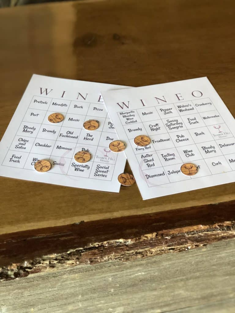 Wineo Bingo Finally Friday Game Night