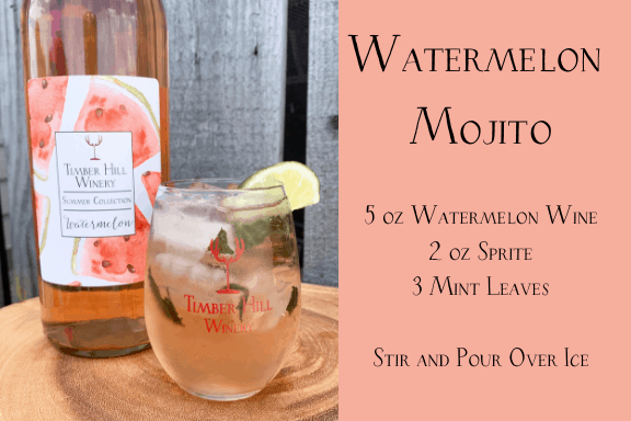 Watermelon Wine Mojito