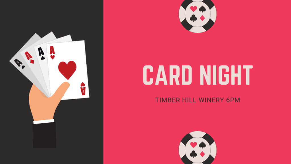Card Night at the Winery