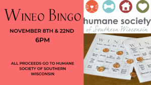 Wineo Bingo at the winery