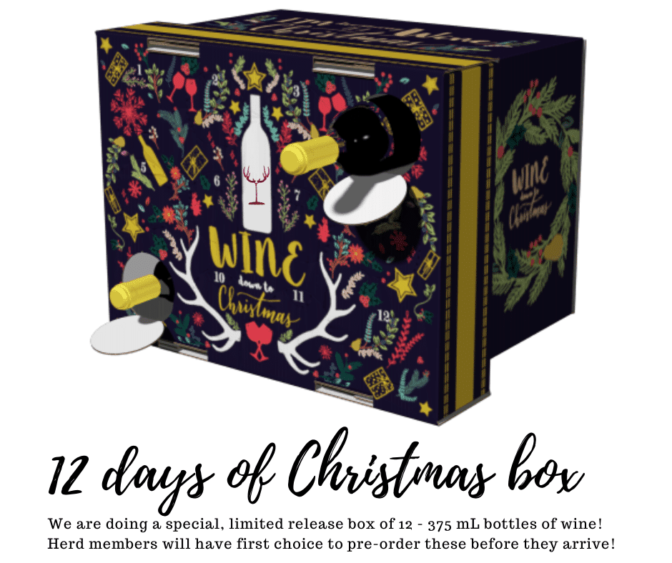 12 Days of Wine Christmas Box