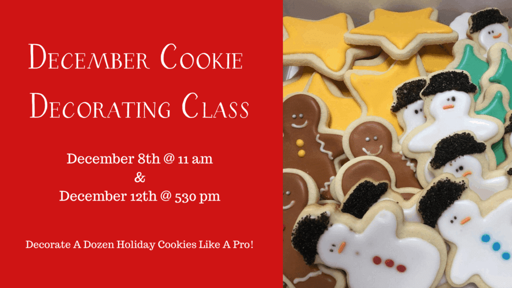 December Cookie Decorating Class