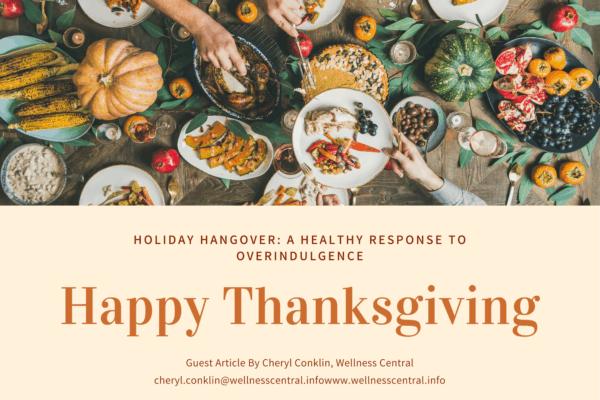Holiday Hangover_ A Healthy Response to Overindulgence