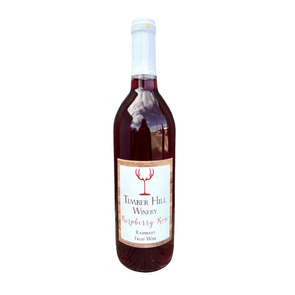 Raspberry Rose Fruit Wine - Wisconsin Wine