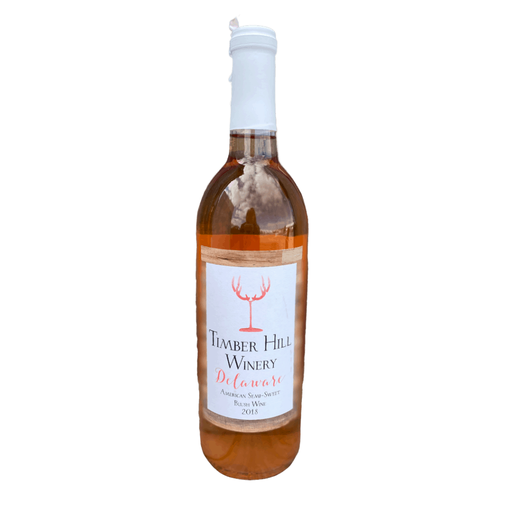 Delaware Blush Wine - Wisconsin Wine