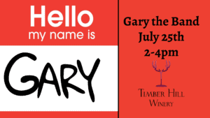 Live Music with Gary the Band