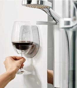 Wine Shower Holder