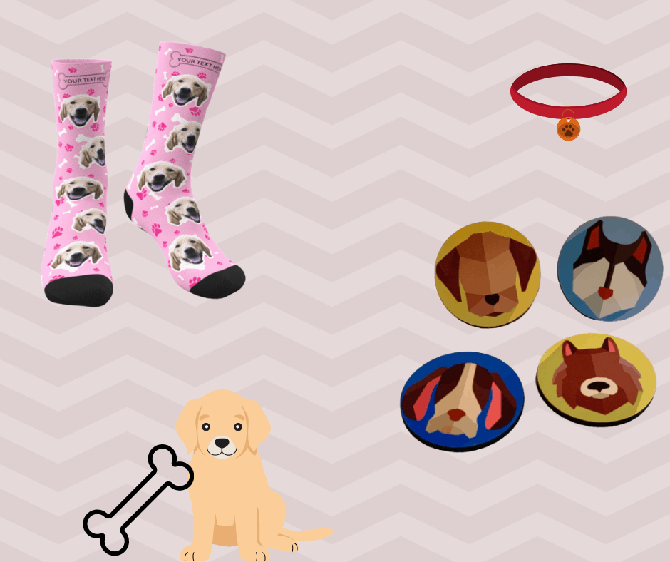 Dog Socks and Coasters