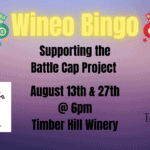 Battle Cap Project Wineo Bingo at Timber Hill Winery Milton, WI
