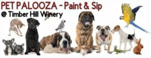Picture This Creative Workshop Board Painting - Pet Palooza Paint and Sip