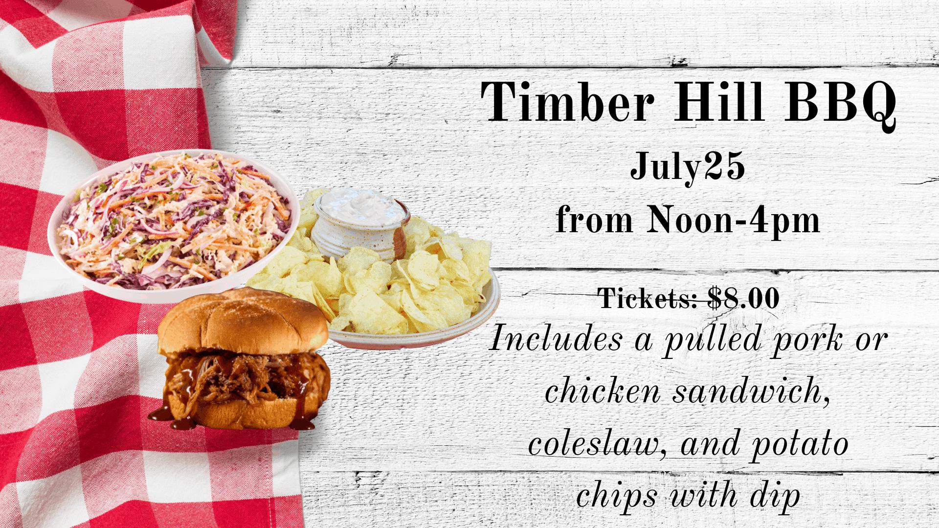 July Timber Hill BBQ