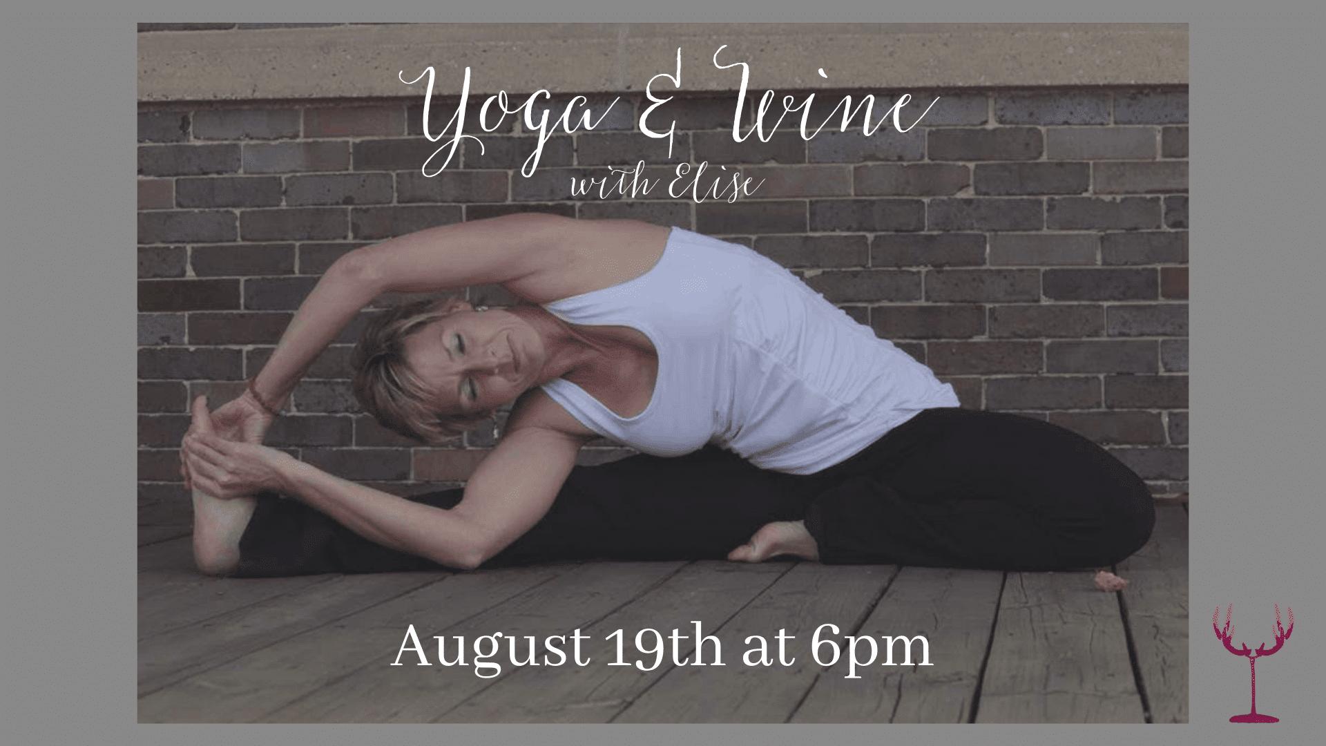 August Wine & Yoga