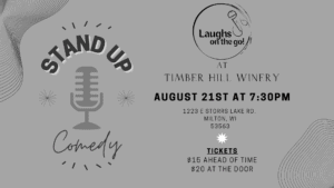 Laughs on the Go Comedy At Timber Hill Winery