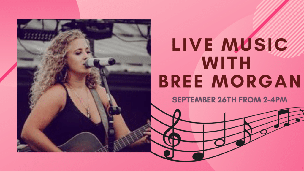 Live music with Bree Morgan