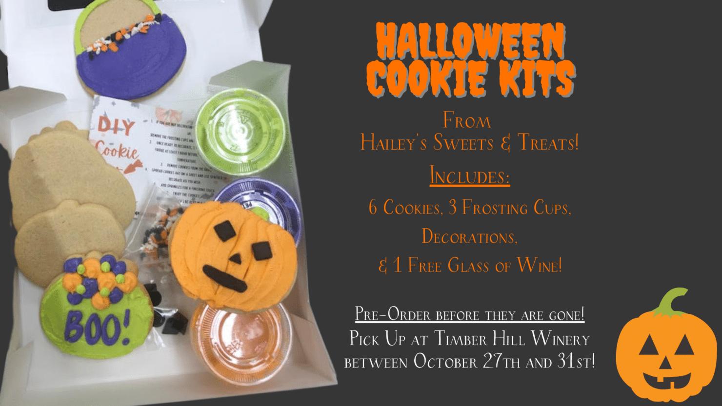 Halloween Cookie Kits