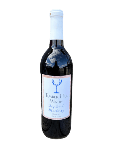 Big Buck Blueberry - Wisconsin Wine