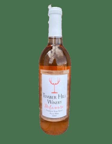 Delaware Blush Wine - Wisconsin Wine