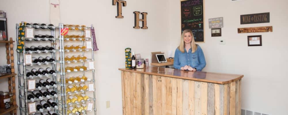 meet Amanda at Timber Hill Winery